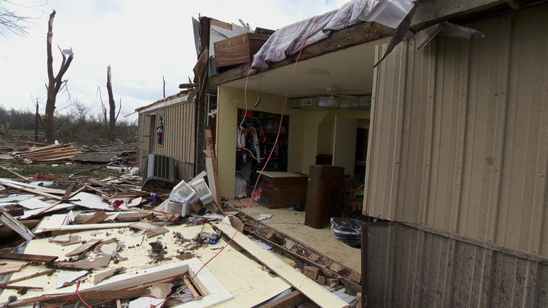 Jackson County Tornado Damage