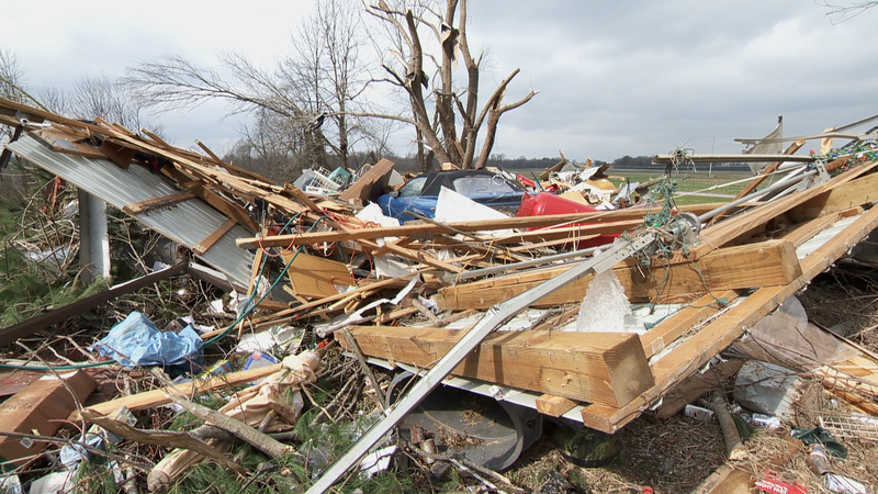 Jackson County Tornado Damage