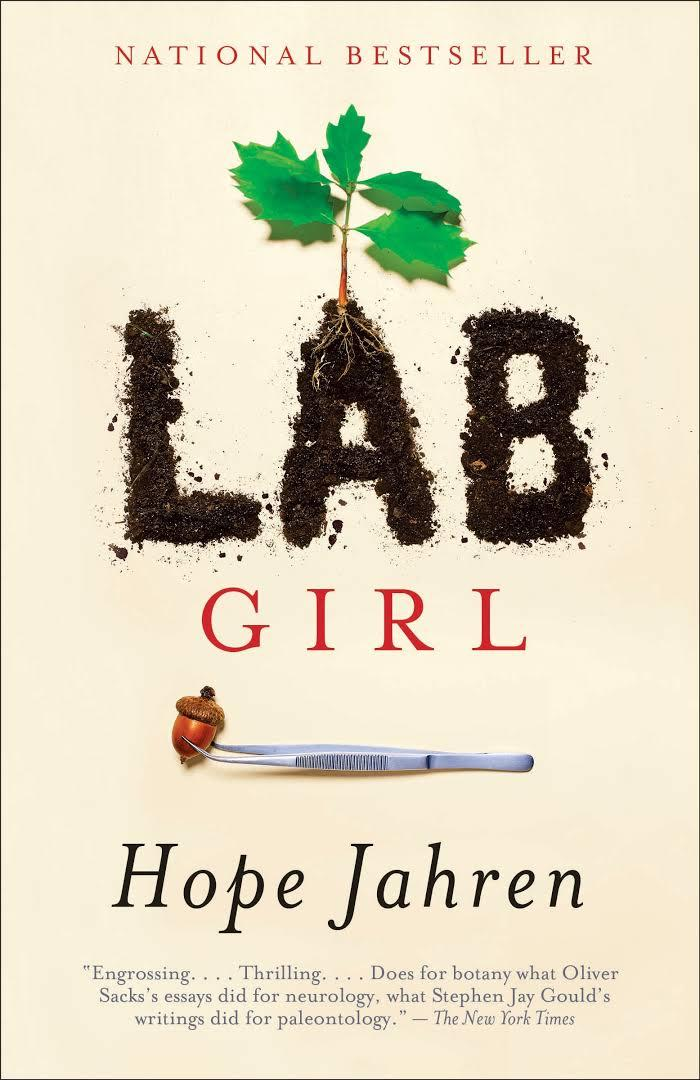 book cover for Lab Girl