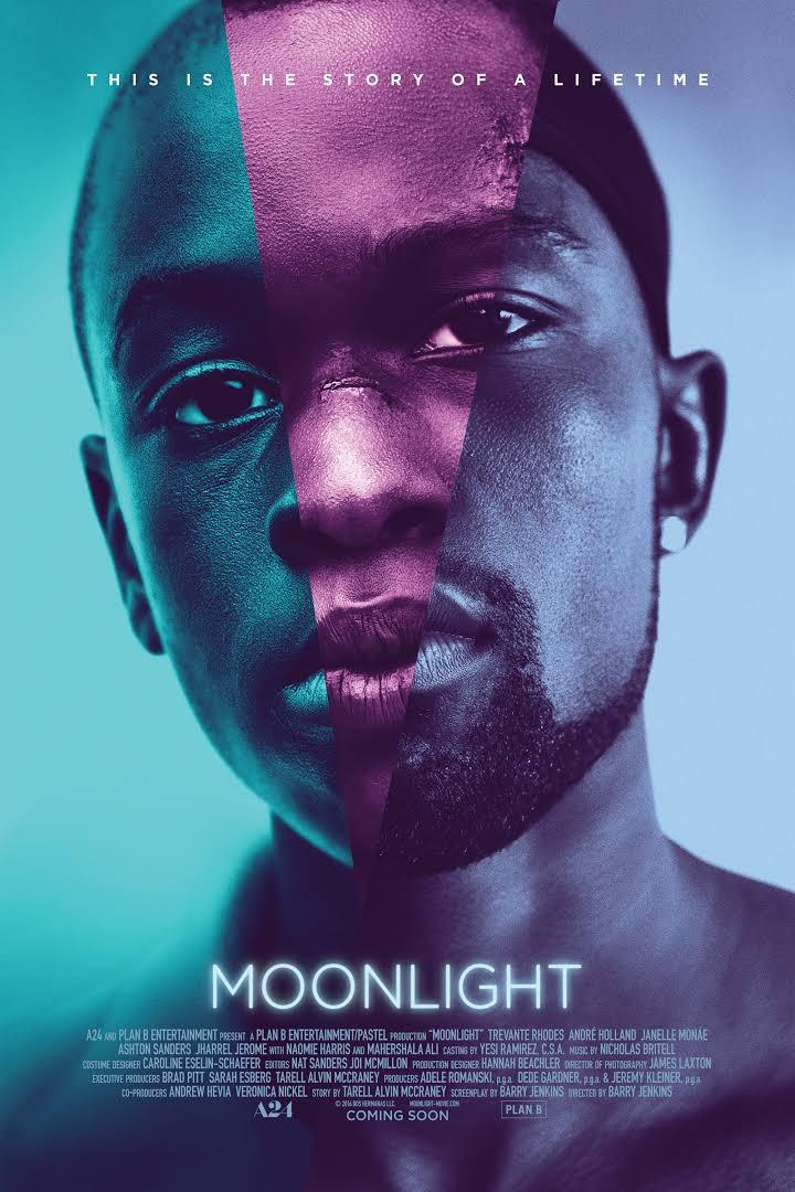movie poster for Moonlight