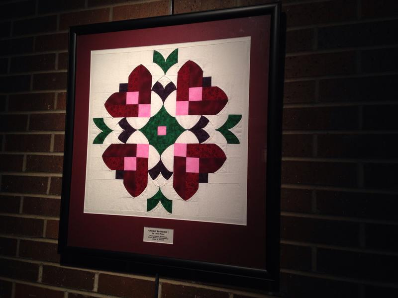 This, and many other quilts are on display now through April 21st at the Brubeck Arts Center Gallery at Wabash Valley College.