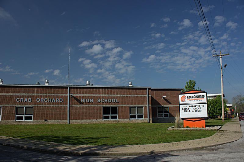 Crab Orchard High School, Site Of a Recent Town Hall Meeting On School Funding Reform.