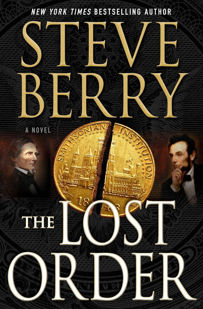 book cover for The Lost Order by Steve Berry
