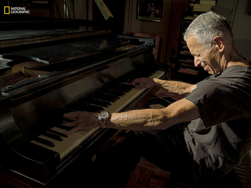 "Jazz pianist Keith Jarrett improvises concerts that last for as long as two hours. ""The only thing that works,"" he says, ""is letting go."""