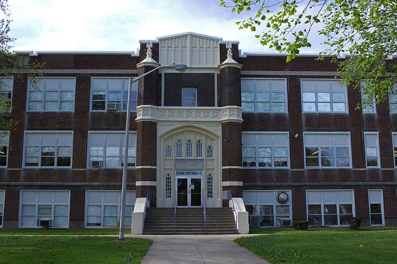 Harrisburg High School.  Photograph Taken April 15th, 2015.