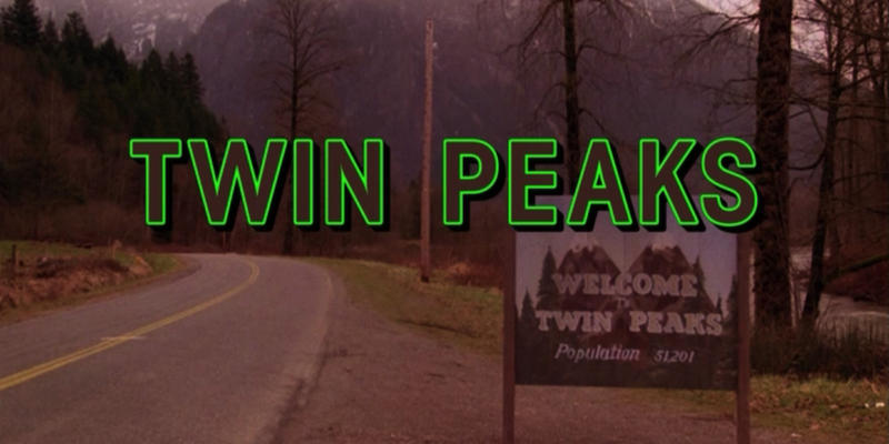 promotional poster for Twin Peaks: The Return