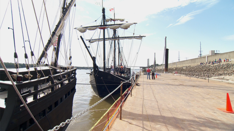 Replicas of Christopher Columbus' Ships