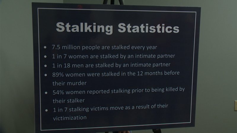 Stalking Awareness Month