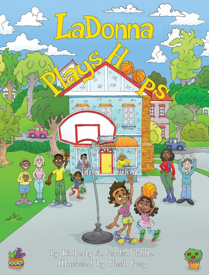 photo of book cover for LaDonna Plays Hoops