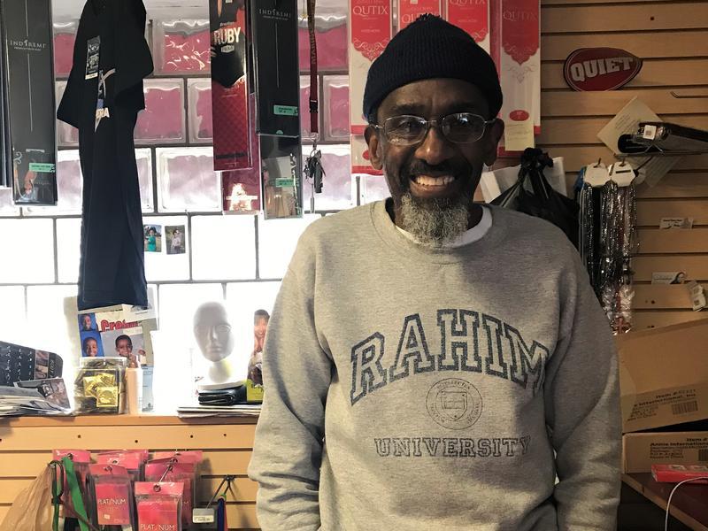 Rahim Khalil owns Rahim's Beauty Supply in Carbondale.