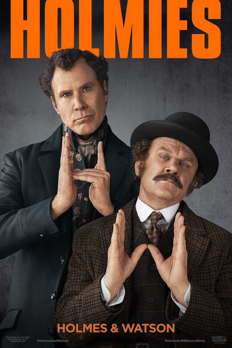 movie poster for Holmes & Watson