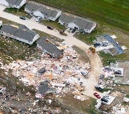 Harrisburg IL Tornado Damage