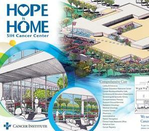 Artist rendering of the proposed SIH Cancer Center