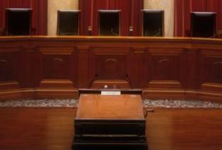 US Supreme Court Chamber