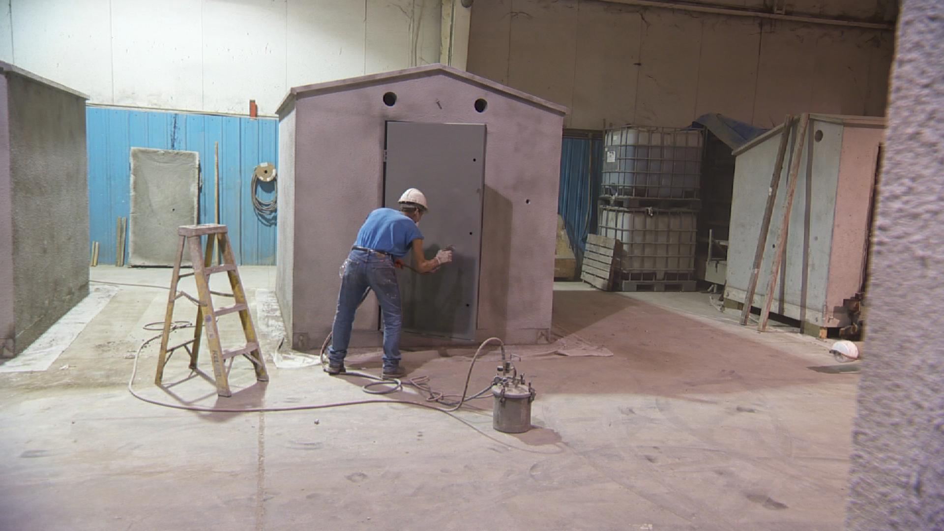 Above Ground Steel Shelter : Safe sheds above ground tornado shelters wsiu