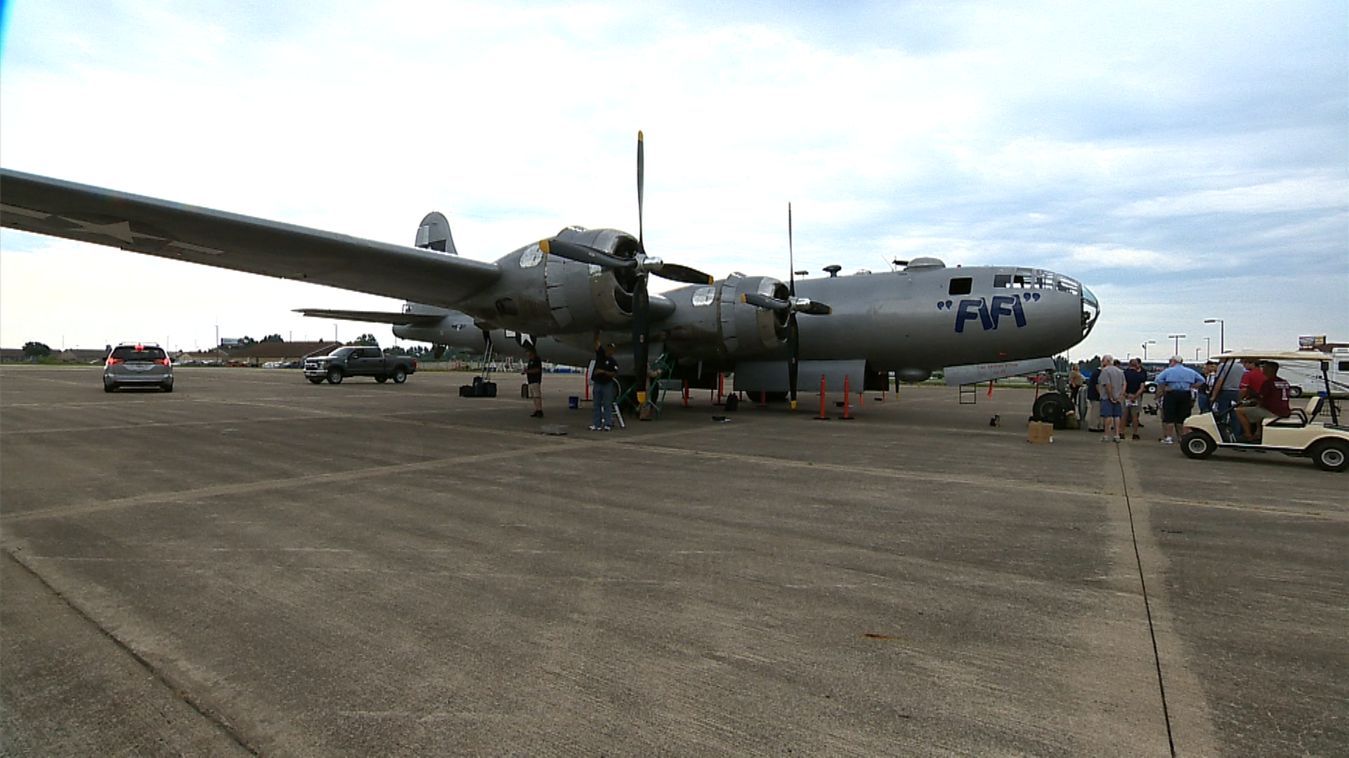 commemorative air force air power history tour flies into marion for
