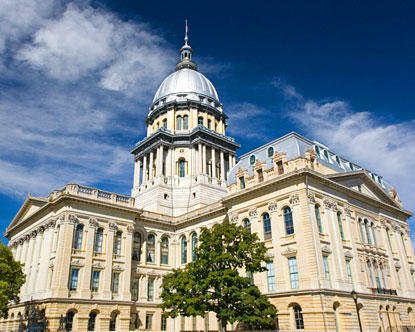Illinois House fails to override veto of right to work ban
