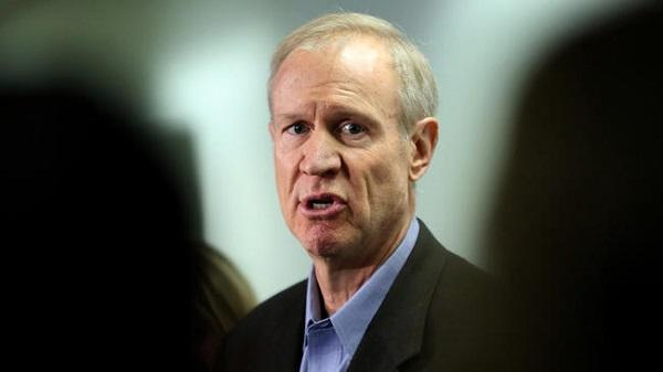 IL  governor takes aim at pensions, healthcare costs in budget