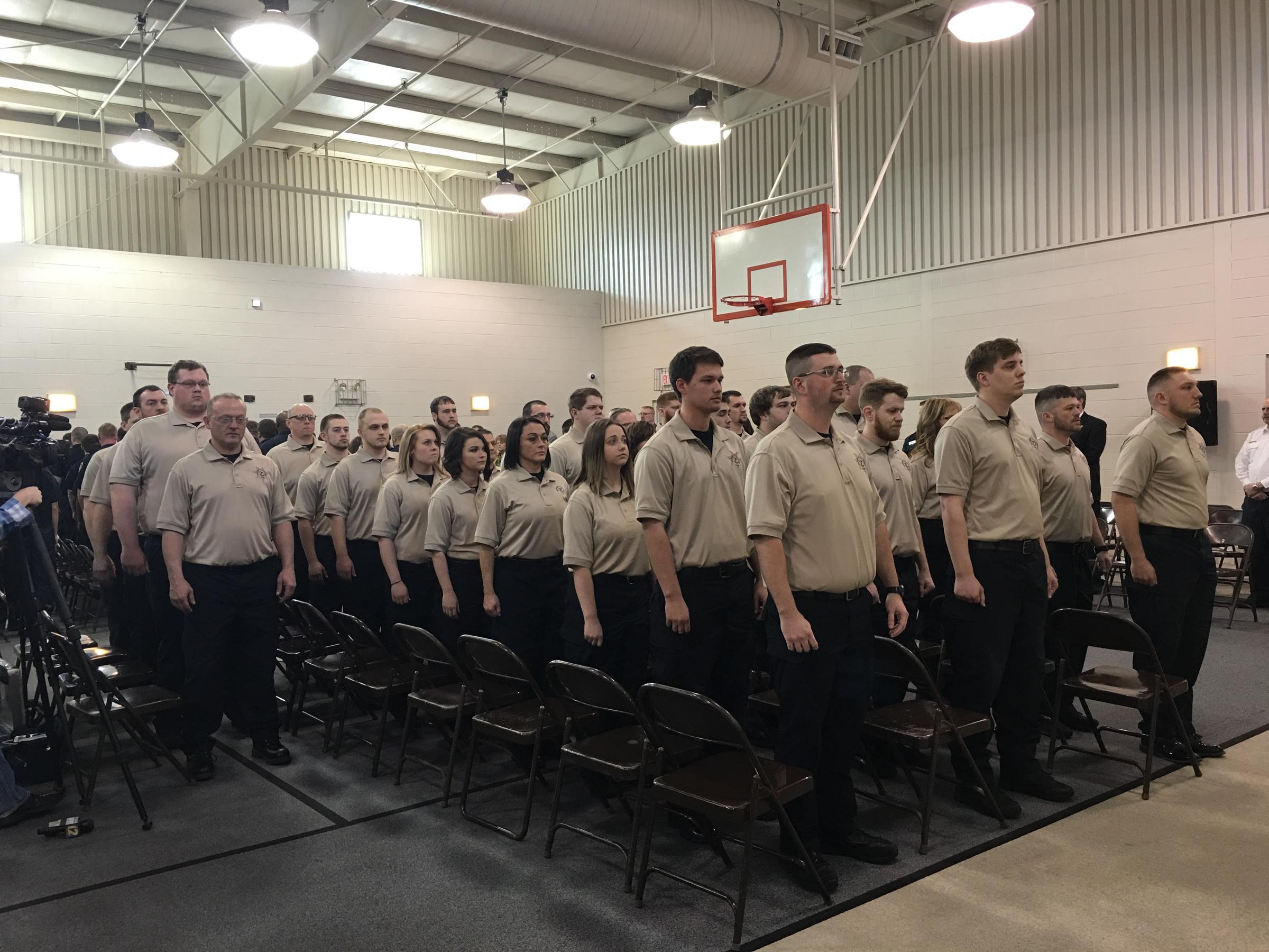 New Idoc Cadets Graduate In Murphysboro Wsiu