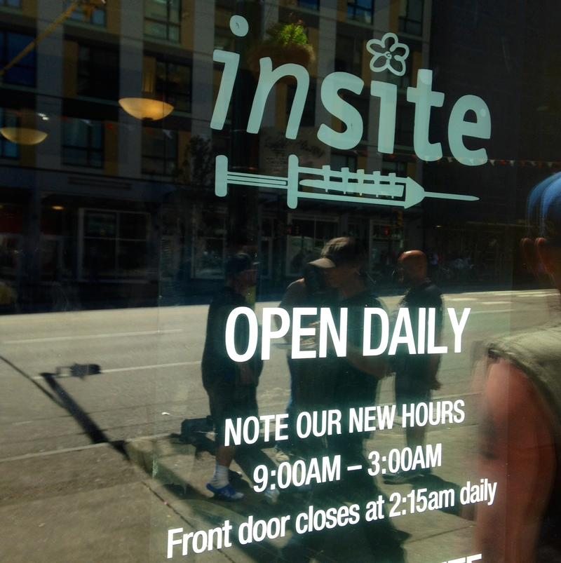 Insite has been around since 2003. Earlier this year, Ithaca, NY proposed exploring a supervised injection site for that city.