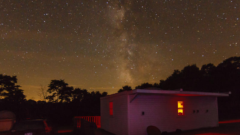 The Syracuse Astronomical Society observatory.