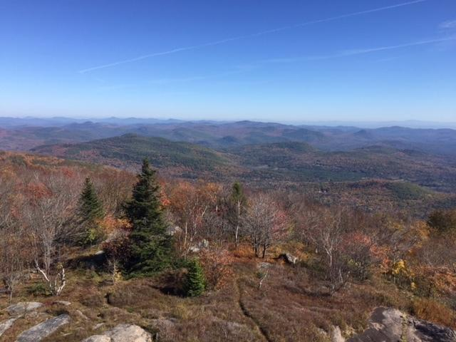 View from the top of Hadley Mt