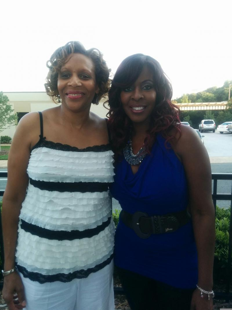 Pat Hall and jazz flutist Althea Rene