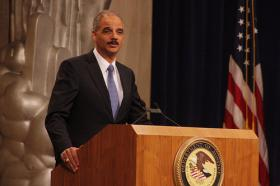 U.S. Attorney General Eric Holder is calling on Alabama and 10 other states to do a better job of restoring voting rights to ex-felons.