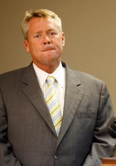 Former Mobile County Commissioner Stephen Nodine is sentenced to 2 years in jail.