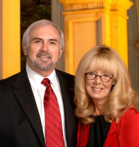 Dr. Guy Bailey and his wife, Dr. Jan Tillery-Bailey