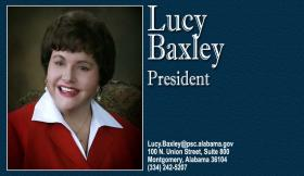 Lucy Baxley is handing over the presidency of the Public Service Commission to Twinkle Andress Cavanaugh.