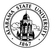 Alabama State University is interviewing three finalists for its presidency.