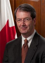 Canada's consul general in Atlanta, Stephen Brereton visited Montgomery to promote trade between Alabama and his country.