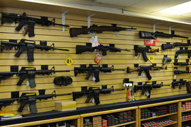 The Alabama Senate has started a debate on easing some of the state's gun restrictions.