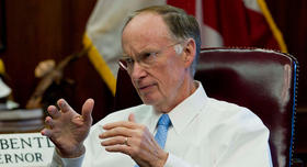 Gov. Robert Bentley's office spent over $600,000 on travel in state-owned airplanes in his first 21 months in office.