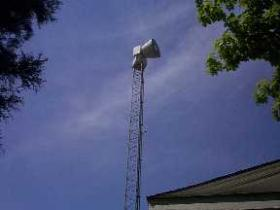 "A tornado siren in Madison County. A new system will allow for warnings to be more ""site specific."""