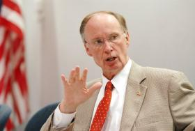 Gov. Robert Bentley says a disagreement with state pension fund Chief David Bronner had nothing to do with new controls being placed on Bronner's investment authority.