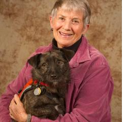 Lola, Hearing Dog (with her owner, Charlene)