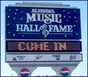 Supporters of the Alabama Music Hall of Fame have set a target date to reopen the tourist attraction.