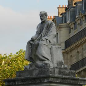 Louis Pasteur monument in Paris