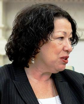 Supreme Court Justice Sonia Sotomayor is calling attention to an Alabama law that allows judges to impose death sentences after juries have voted to send defendants to prison for life.
