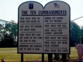 Alabama lawmakers are proposing a multitude of school prayer and religious expression bills this session including one to allow the display of the Ten Commandments in schools and other public buildings.