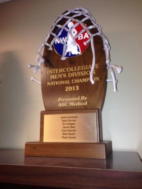 Intercollegiate Wheelchair Basketball National Championship Trophy 2013