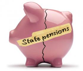 A study says pension funds serving more than 335,000 Alabama state workers and retirees could run out of money in a decade if changes aren't made.