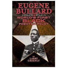 Book cover - old black and white photo of Eugene Bullard