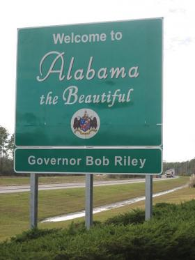 "The new ""Welcome to Sweet Home Alabama"" signs will replace the ""Alabama The Beautiful"" signs that have stood at the state line since 2003."