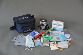 The contents of a SHEP kit that were supposed to have been distributed to homeless and others in the Birmingham and Tuskegee areas by March of 2010, shown here Monday July 14, 2014 (Frank Couch/fcouch@al.com)