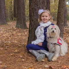 Kaelyn and JJ Krawczyk, Service Dog