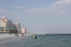 An Ala. Senate panel has delayed a vote on efforts to help build a hotel and conference center on the beach at Gulf State Park in Gulf Shores.