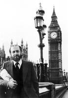 Robert Seigel in London 1980